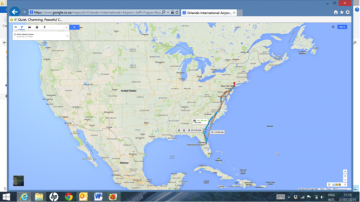 My map to the US, Devi Govender