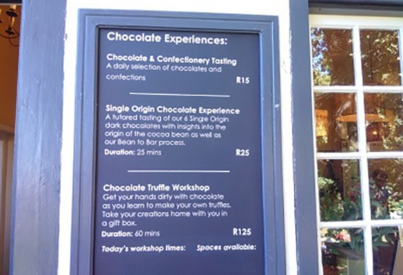 Chapter Six – Chocolate, pizza & sushi…& another happy day in the Cape! #DeviExploresSA